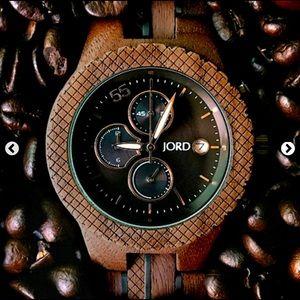 JORD Men's Wood Conway Watch